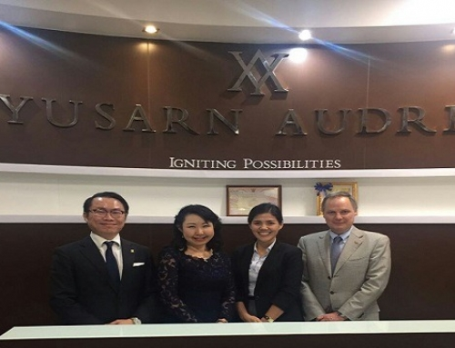 Announcement of Our New Office in Thailand